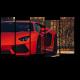 Красный Lamborghini Aventador