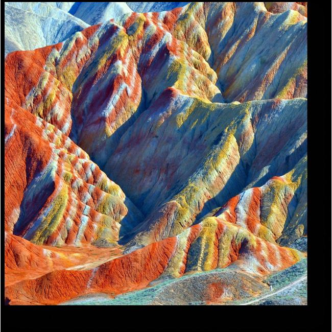 Модульная картина Горы в Китае