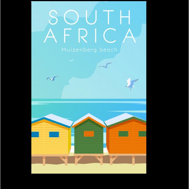 Модульная картина Южная Африка