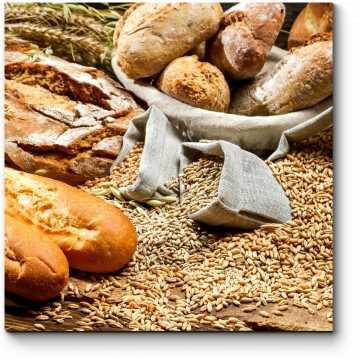 Модульная картина Хлебный рай