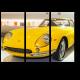 Желтый Феррари 1966 года