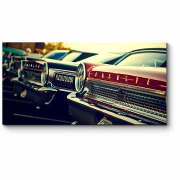 Модульная картина Красавцы Форд
