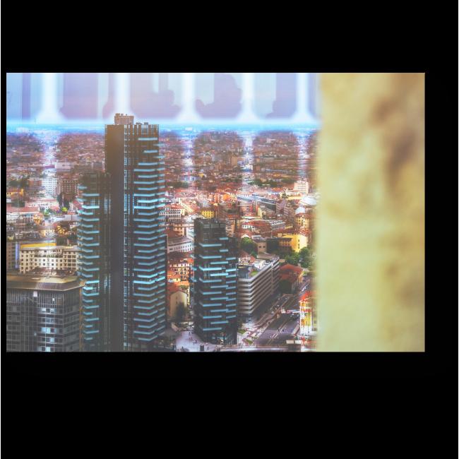 Модульная картина Современный Милан