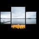 Желтые лодки отдыхают на берегу