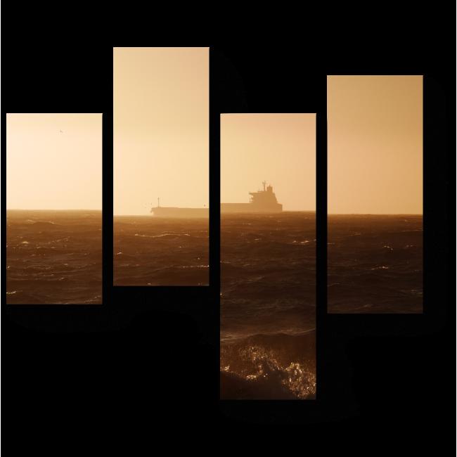 Модульная картина В тумане