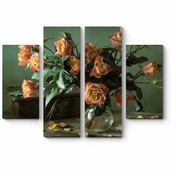 Прекрасный букет роз