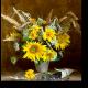 Подсолнухи и сухоцветы