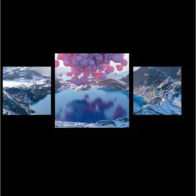 Модульная картина Выше неба