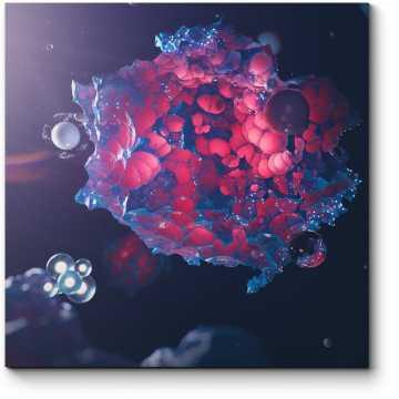 Модульная картина Организм