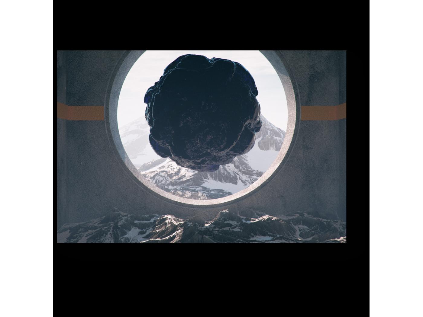 Модульная картина Окно будущего (30x20) фото
