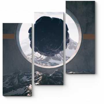 Модульная картина Окно будущего