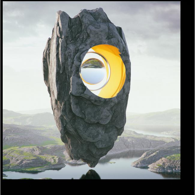 Модульная картина Всевидящее око