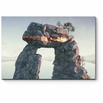 Модульная картина Каменная арка