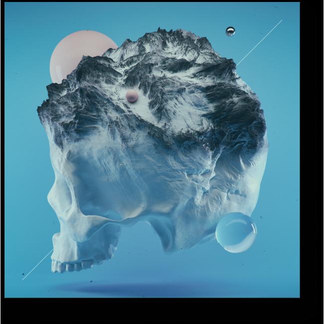 Модульная картина Ледниковый период