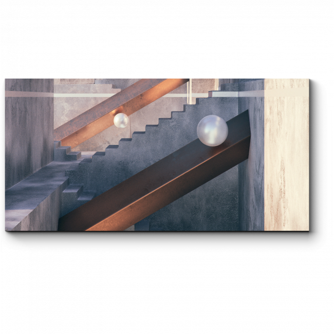 Модульная картина Многоуровневые лабиринты