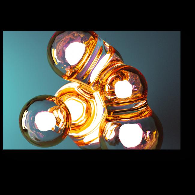 Модульная картина Лампочки