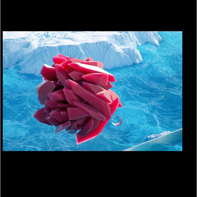 Модульная картина Пролетая над ледниками