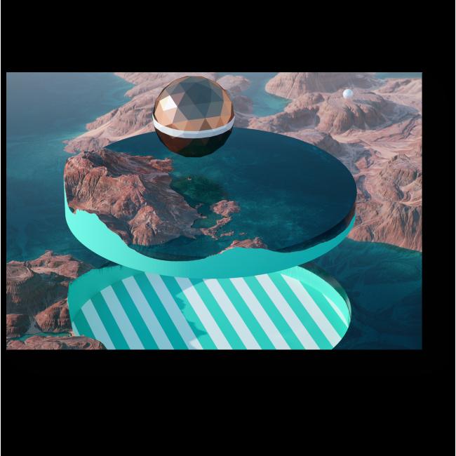 Модульная картина Литосфера