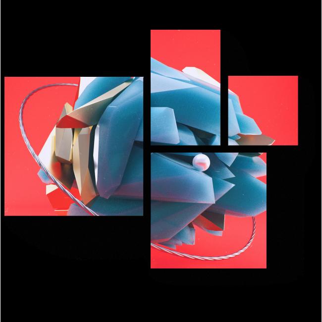Модульная картина Соединение пород