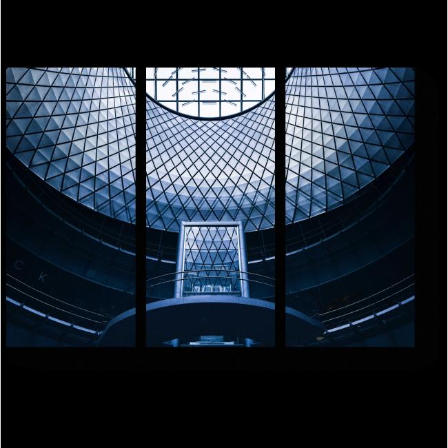 Модульная картина Современная конструкция