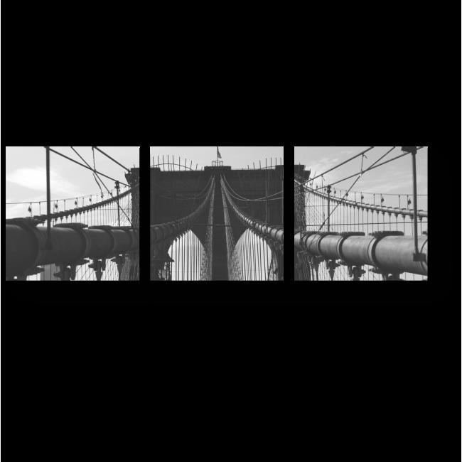 Модульная картина Надежность моста
