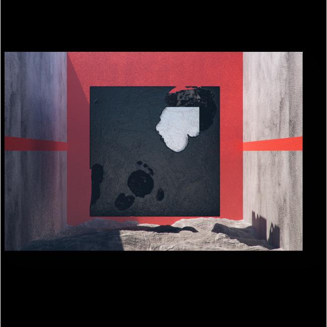 Модульная картина Между стен