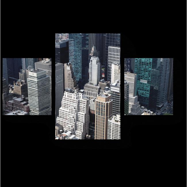 Модульная картина Город возможностей