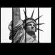 Величественная статуя Свободы