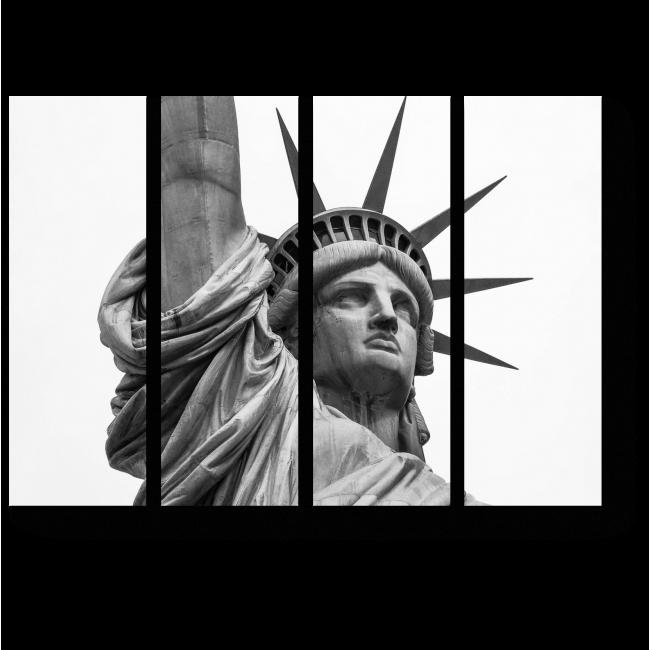 Модульная картина Величественная статуя Свободы