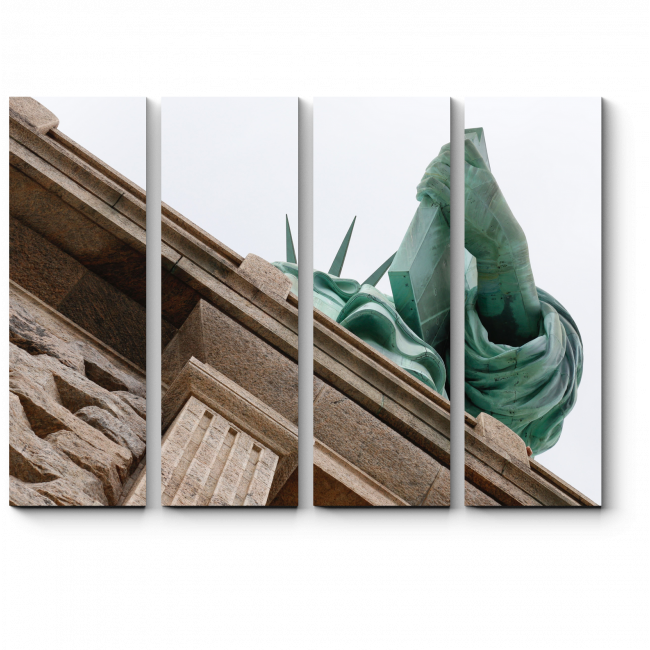 Модульная картина Рука Свободы