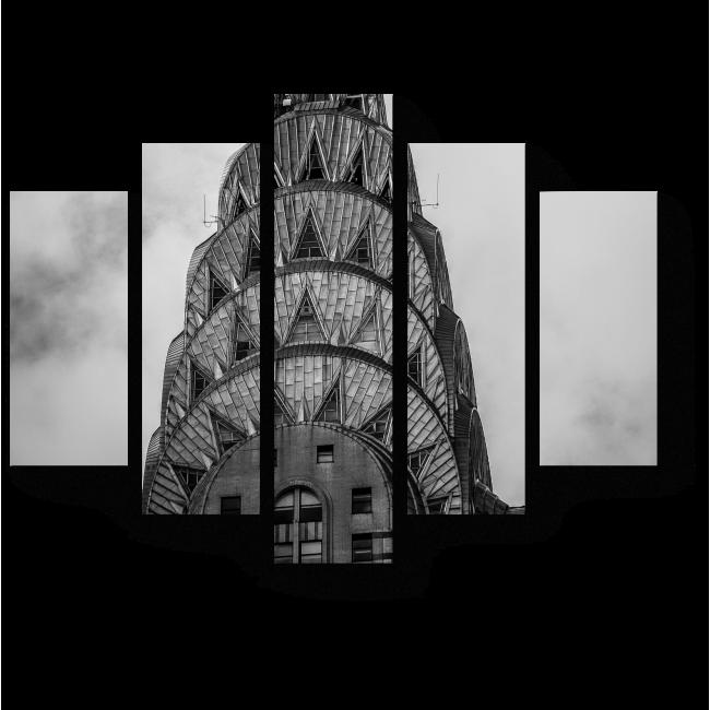 Модульная картина Шпиль