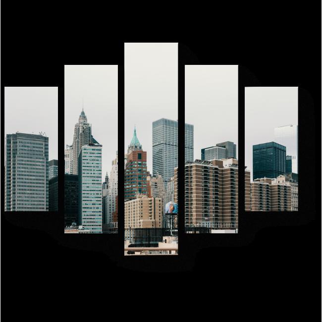 Модульная картина Urban