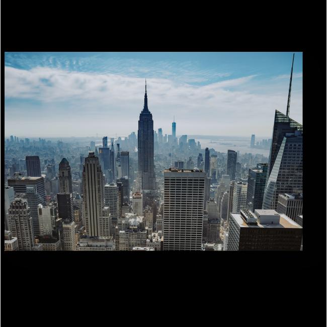 Модульная картина Мегаполис