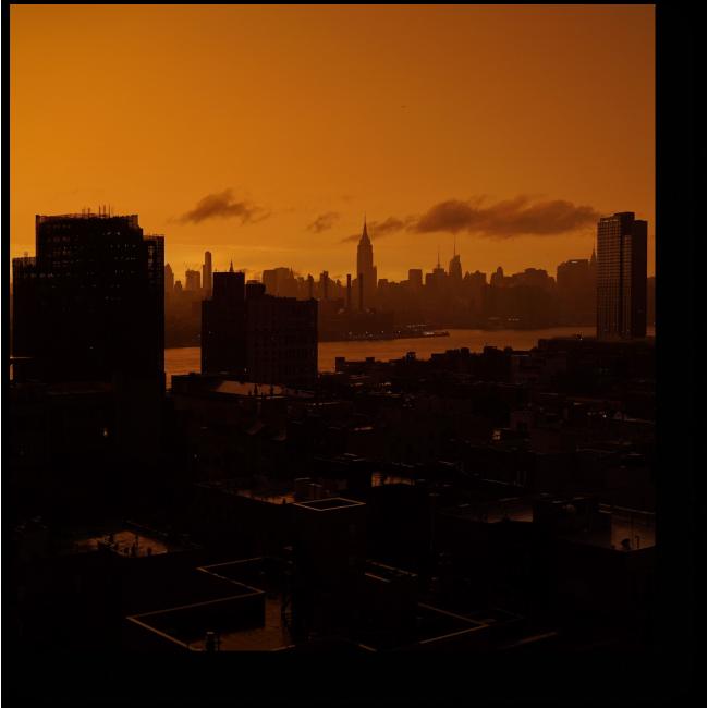 Модульная картина Сумрачный Нью-Йорк