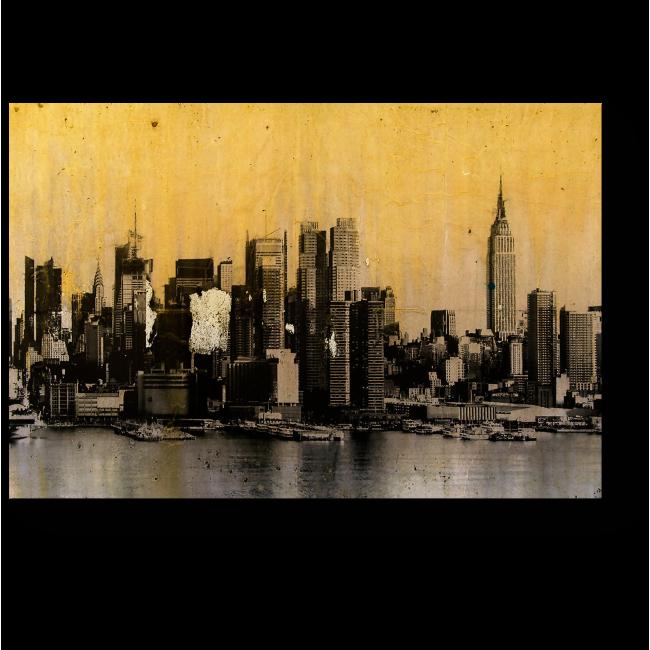 Модульная картина Ретро Нью-Йорк