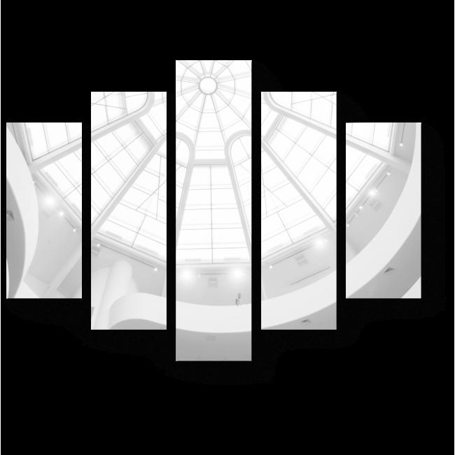 Модульная картина Под белоснежным куполом