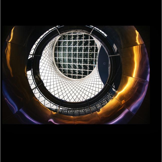 Модульная картина Фултон-стрит