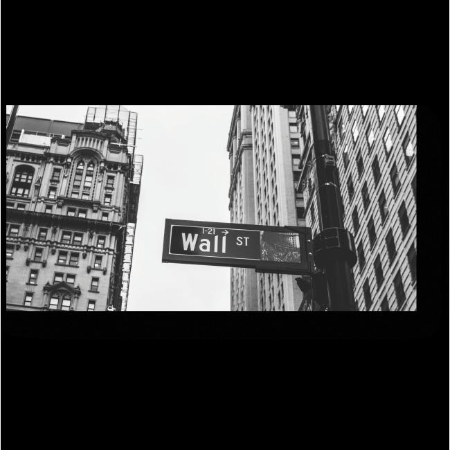 Модульная картина Уолл-стрит