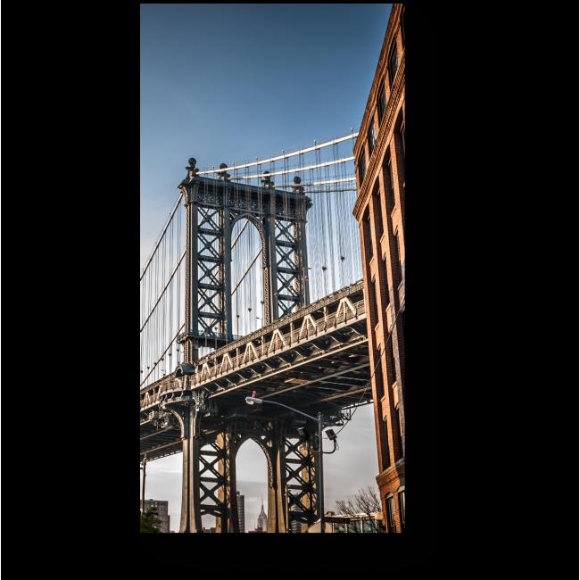 Модульная картина Городской мост