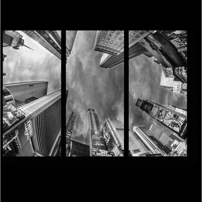 Модульная картина Необычный вид Нью-Йорка