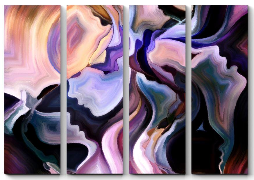 картина с абстракцией