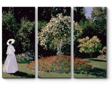 Женщина в саду. Клод Моне