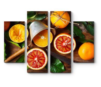 картина с апельсинами