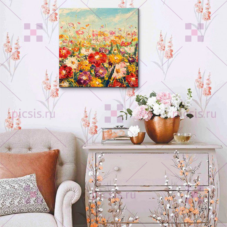 цветочная картина