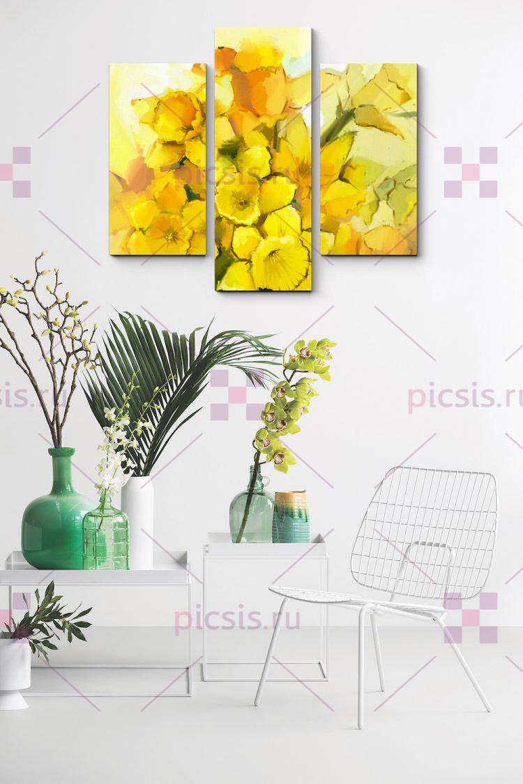 жёлтый в интерьере