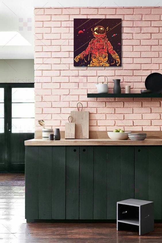 постер на кухне