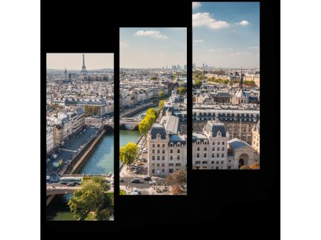 картина с видом на Париж